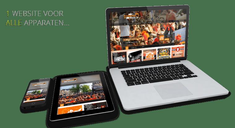 Responsive webdesign Alphen aan den Rijn