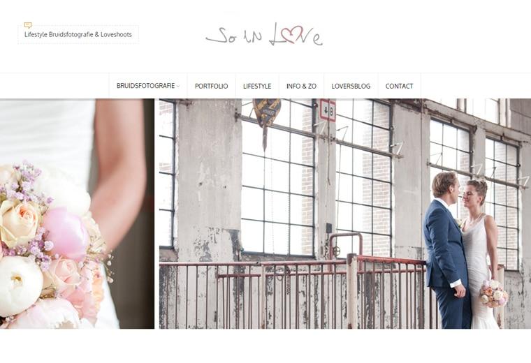 So in love bruidsfotografie Alphen aan den Rijn