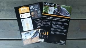 Flyer Larcoz Beveiliging