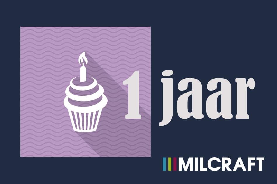 Milcraft 1jaar