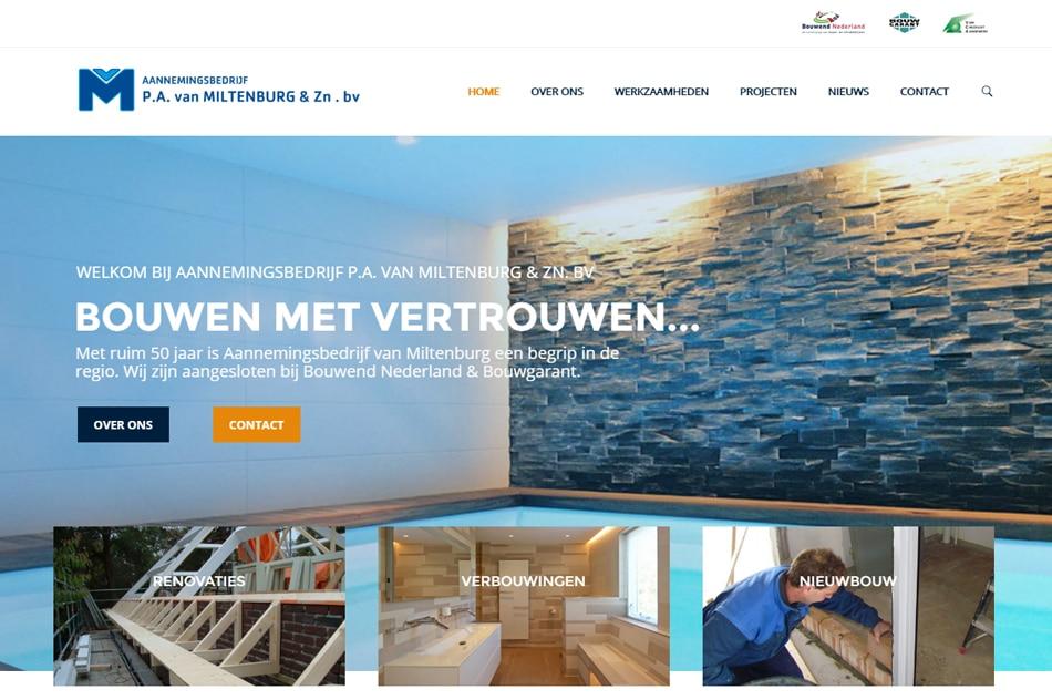 Aannemingsbedrijf P.A. van Miltenburg & Zn. BV