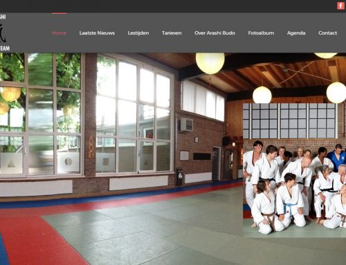 Website Arashi Budo live!