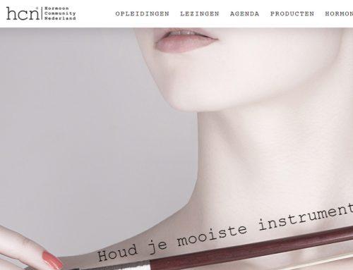 Nieuwe huisstijl en webwinkel voor Hormoon Community Nederland