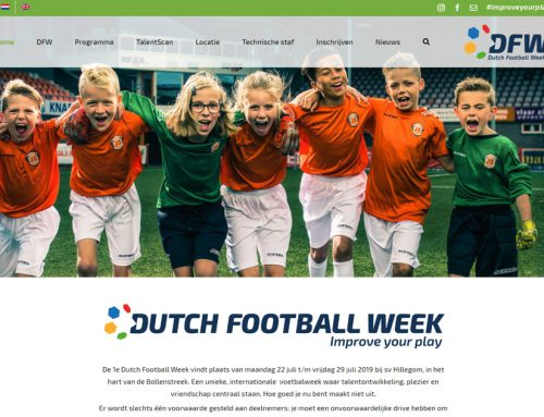 Website van Dutch Football Week staat live!