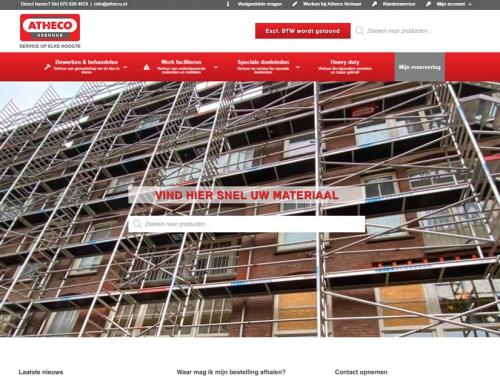 Nieuwe website Atheco Verhuur staat live!